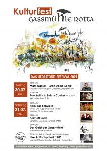 Kulturfest Gassmühle Rotta